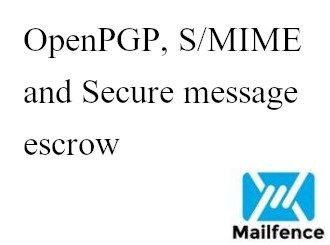 SMTP TLS/STARTTLS message escrow Archives   Mailfence Blog